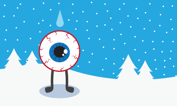 5 Tips for Dry Winter Eyes