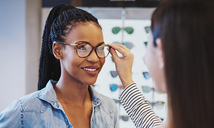 Finding a clear point of view: Avoiding common problems with eyeglasses
